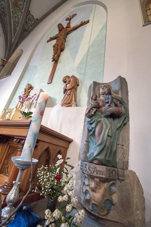 Grundstein des ersten Klosters St. Anna.