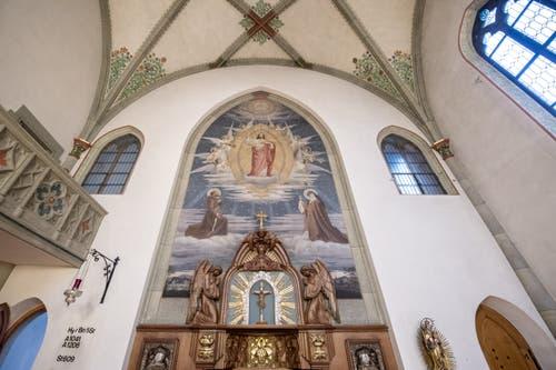 Altar des inneren Teiles der Klosterkirche.