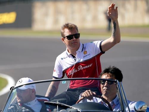 Kimi Räikkönen wird am Donnerstag 40 Jahre alt. Ans Aufhören denkt der älteste Fahrer im Formel-1-Feld aber noch nicht (Bild: KEYSTONE/AP/TORU HANAI)