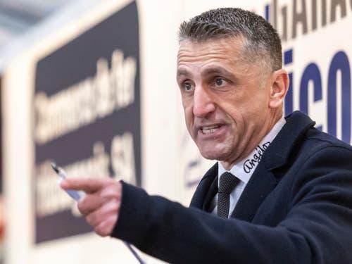 Musste nach sechs Spielen mit nur einem Sieg gehen: der ehemalige Fribourg-Coach Mark French (Bild: KEYSTONE/ADRIEN PERRITAZ)