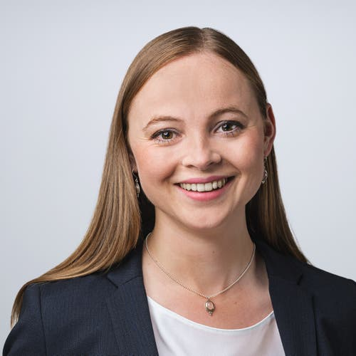 Laura Dittli, Liste 6 - CVP, Oberägeri, Rechtsanwältin und Notarin, 1991.Nicht gewählt – 4852 Stimmen.