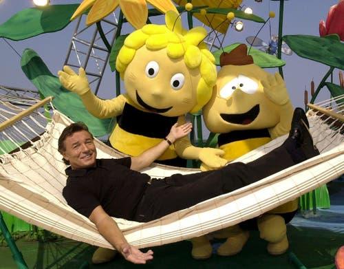 Unvergessen bleibt sein «Biene Maja»-Song (Bild: Keystone)