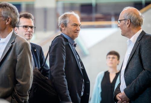 Warum so skeptisch, Herr Egger? Der Präsident der Grünen Thurgau darf sich über einen massiven Stimmenzuwachs bei der Nationalratswahl freuen. (Bild: Reto Martin)