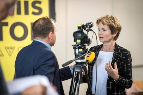 Sie bleibt im Amt: Ständerätin Brigitte Häberli. (Bild: Reto Martin)