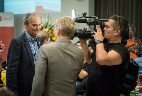 Auch er hat den Sprung in den Nationalrat geschafft: Der Grüne Kurt Egger. (Bild: Reto Martin)