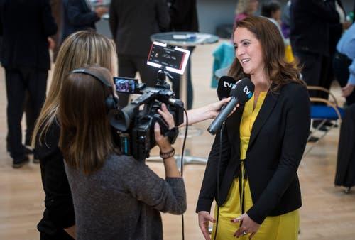 Nina Schläfli, Ständeratskandidatin der SP Thurgau. (Bild: Reto Martin)