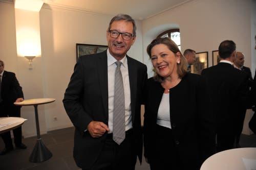 Josef Dittli und Heidi Z'graggen wurden für Uri in den Ständerat gewählt. (Bild: Urs Hanhart, Altdorf, 20. Oktober 2019)