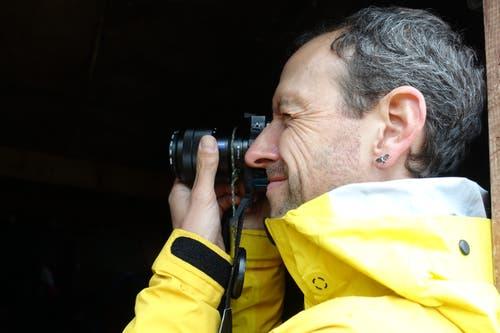 Übungsleiter Andreas Schwarz. (Bild: Christiana Sutter)