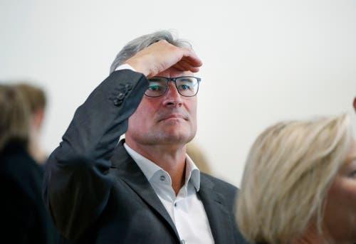 FDP-Ständeratskandidat Matthias Michel. (Bild: Stefan Kaiser, Zug, 20. Oktober 2019)