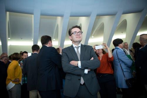 Beni Würth, CVP-Kandidat für den Ständerat. (Bild: Ralph Ribi)