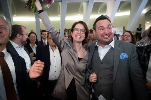 Susanne Vincenz-Stauffacher, FDP. (Bild: Ralph Ribi)