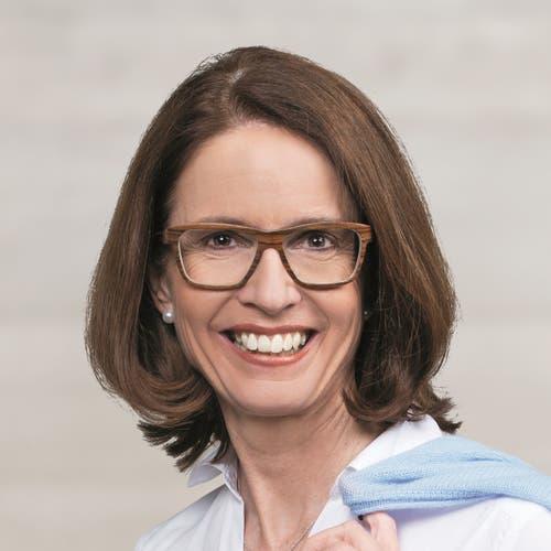 St. Gallen: Susanne Vincenz-Stauffacher (neu), FDP. (Bild: Keystone)