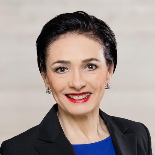 Aargau: Marianne Binder-Keller (neu), CVP. (Bild: Keystone)