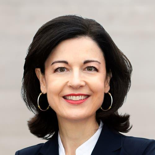 Zürich: Regine Sauter (bisher), FDP. (Bild: Keystone)