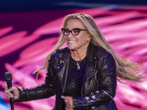Stargast am Eröffnungstag: die amerikanische Sängerin Anastacia (Bild: KEYSTONE/GEORGIOS KEFALAS)