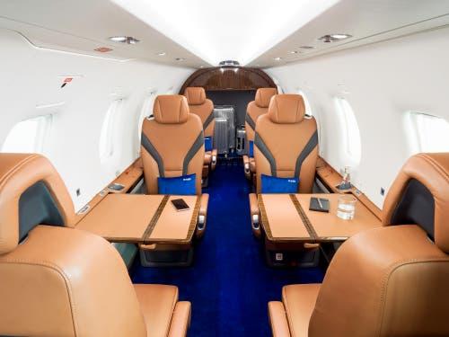 Impressionen vom neuen Pilatus PC-12 NGX. (Bild: PD/Pilatus Aircraft Ltd.)
