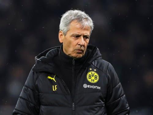 Nach der Niederlage wird der Name Lucien Favre in den deutschen Medien wieder in den Fokus geraten (Bild: KEYSTONE/EPA/FRIEDEMANN VOGEL)