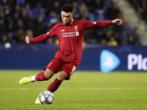 Führt Liverpool mit einer Doublette zum Sieg über Genk: Liverpool-Angreifer Alex Oxlade-Chamberlain (Bild: KEYSTONE/EPA/STEPHANIE LECOCQ)