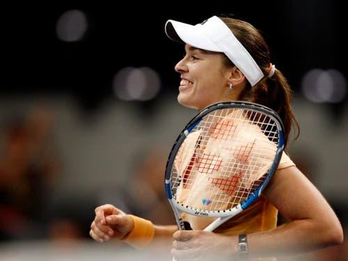 Martina Hingis war vor 13 Jahren die letzte Schweizer Einzelspielerin an den WTA Finals, die damals in Madrid stattfanden (Bild: KEYSTONE/ALESSANDRO DELLA BELLA)