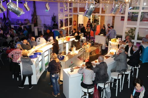 In der Halle TopLive finden auch dieses Jahr wieder abwechslungsreiche Shows statt (Bild: PD)