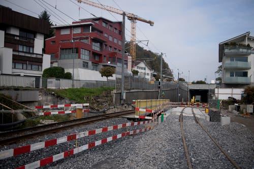 Haltiwaldtunnel. (Bild: Corinne Glanzmann, Hergiswil, 23. Oktober 2019)