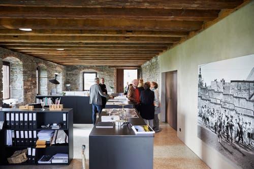 Das Architekturbüro hat die Sanierung der Kreuztrotte geplant.