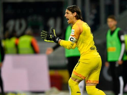Goalie Yann Sommer ist schon seit Jahren ein Leistungsträger bei Mönchengladbach (Bild: KEYSTONE/AP/MARTIN MEISSNER)
