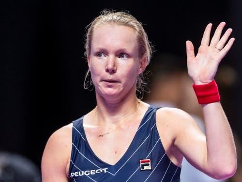 Kiki Bertens ist die nächste Gegnerin von Belinda Bencic zum Abschluss der Gruppenspiele (Bild: KEYSTONE/EPA/ALEX PLAVEVSKI)