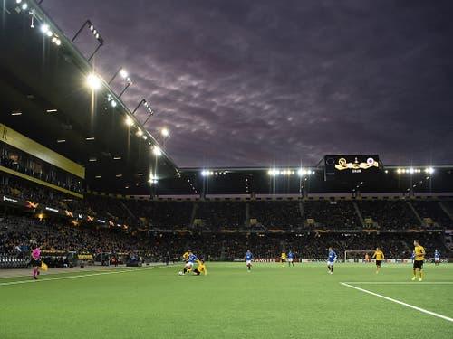 Die Young Boys zeigen im eigenen Stadion eine Reaktion (Bild: KEYSTONE/PETER SCHNEIDER)