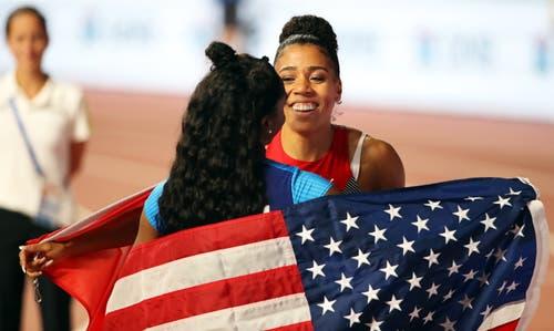 Mujinga Kambundji holt sich sensationell die Bronze-Medaille an der Leichtathletik-WM in Doha.