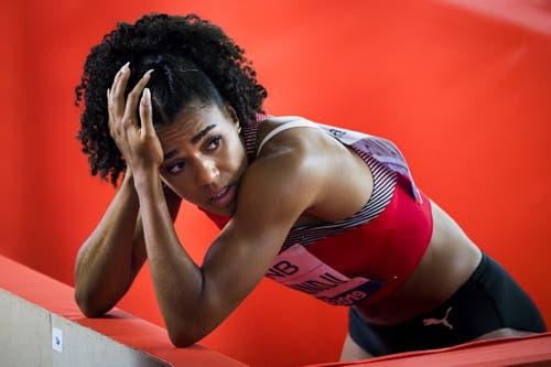 2019: Weltmeisterschaften DohaDas neueste Kapitel im Hundertstel-Drama der Mujinga Kambundji. Diesmal geht es sogar um Tausendstel! Die Bernerin verpasst den Final über 100 Meter um 0,005 Sekunden und kann auch nicht nachrücken, als sich Dafne Schippers beim Einlaufen verletzt. (Bild: Keystone)