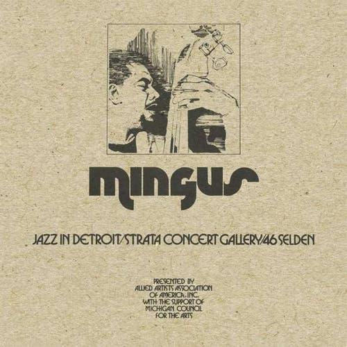 Charles Mingus: Jazz In Detroit (1973). Eine Rarität. Eine Aufnahme mit einer selten gespielten Formation.