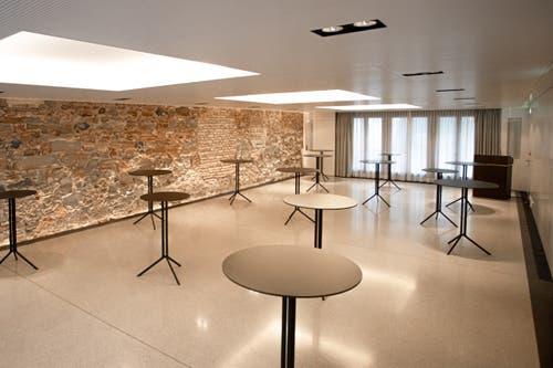 Im den Räumlichkeiten sollen auch Events stattfinden. (Bild: PD)