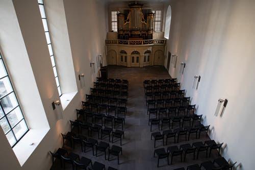 Die Orgel ist das Prunkstück. (Bild: PD)