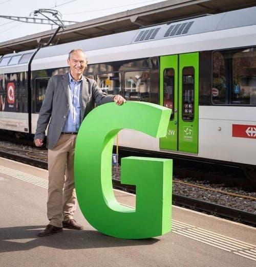 Kurt Egger will als Grüne Stimme in den Nationalrat. Instagram verwende er nur für gutes Fotomaterial. Bild: Instagram / Kurt Egger