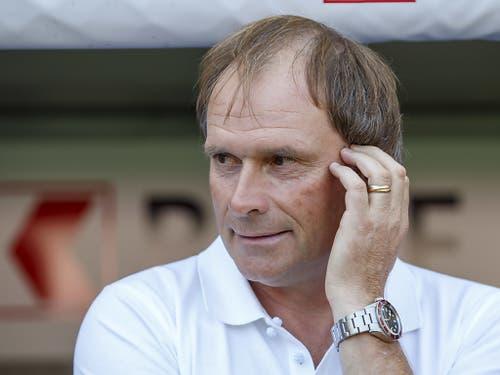 Findet Alain Geiger einen Weg, um seine Mannschaft aus der Baisse zu führen? (Bild: KEYSTONE/SALVATORE DI NOLFI)