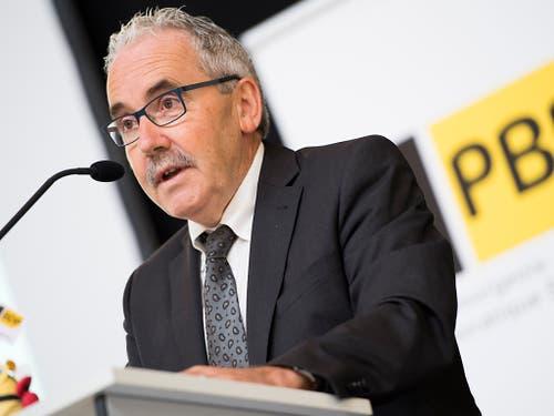 Rang 3: BDP-Nationalrat und BDP-Mitgründer Hans Grunder. (Bild: KEYSTONE/ANTHONY ANEX)