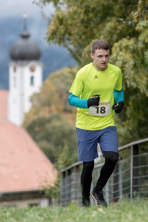 Lars Burri aus Sempach Station. (Bild: Pius Amrein, 6. Oktober 2019)