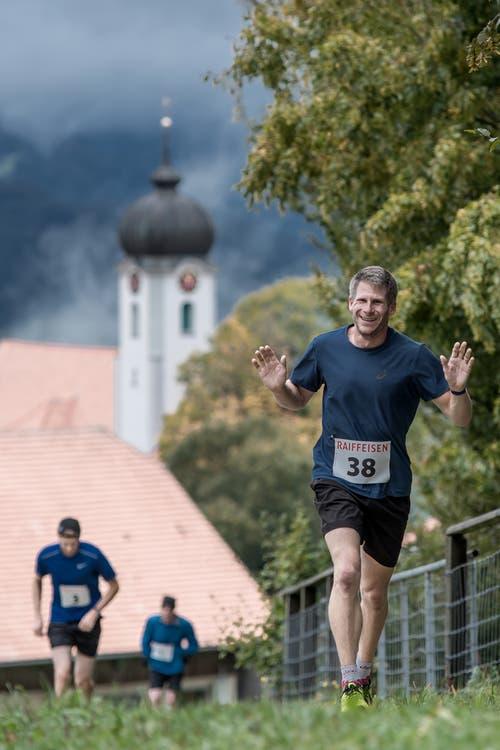 Michael Imhof aus Sisikon. (Bild: Pius Amrein, 6. Oktober 2019)