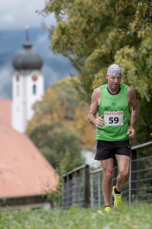 Horat Richard aus Brunnen. (Bild: Pius Amrein, 6. Oktober 2019)
