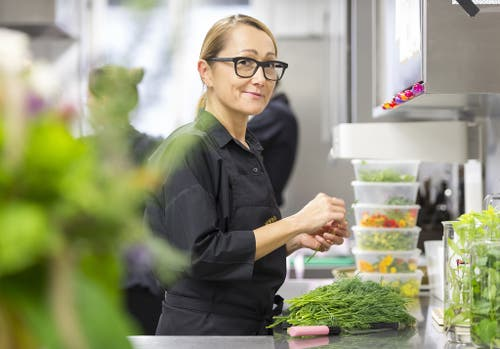 Tanja Grandits wurde bereits 2014 schon einmal zur Köchin des Jahres gewählt. (Bild: Keystone)