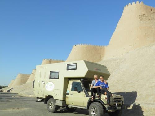 Usbekistan: Mitten im Herzen der Seidenstrasse zwischen Chiwa, Buchara und Samarkand. (Bild: Walter Odermatt)