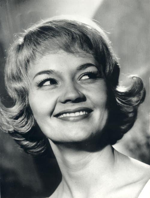 Wenn Liselotte Pulver, hier auf einem undatierten Bild, in den fünfziger Jahren auf der Leinwand lachte, war gute Laune garantiert. (Bild: Keystone / Str)