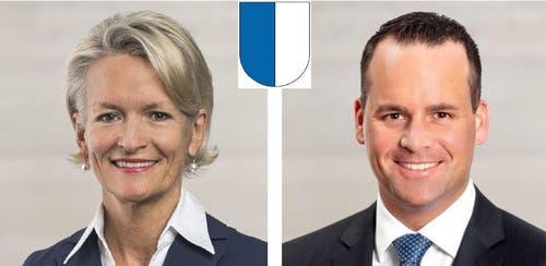 LuzernAndrea Gmür (CVP, in stiller Wahl bestätigt)Damian Müller (FDP, 65'784 Stimmen)