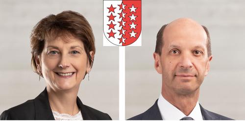 WallisBeat Rieder (CVP, 52'355 Stimmen)Marianne Maret (CVP, 48'402 Stimmen)