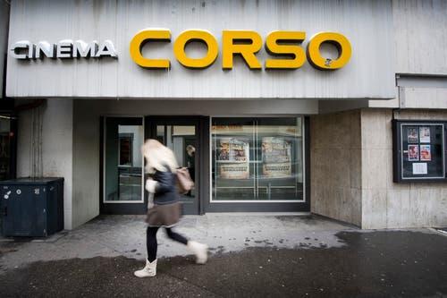 Da wurde noch der eine oder andere Streifen im alten Kino Corso gezeigt. (Bild: Urs Bucher - 14. März 2013)