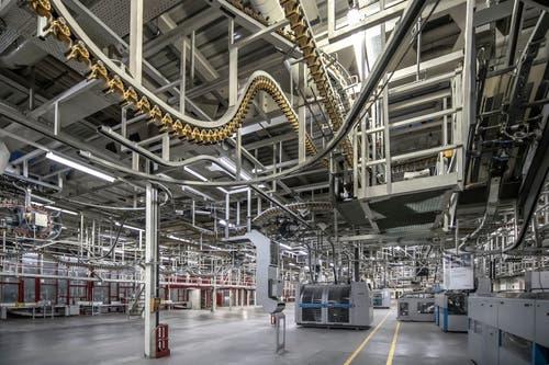 40'000 Tonnen Papier wurden hier in den besten Jahren bedruckt.