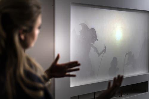 Jeanne Fichtner-Egloff betreut die asiatische Sammlung des Museums und hat auch den neuen Ausstellungssaal entworfen.