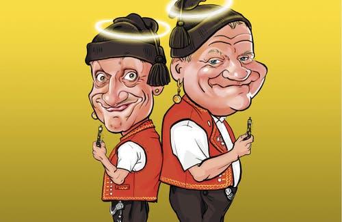 Comedy-Duo Messer & Gabel - selbertschold?!