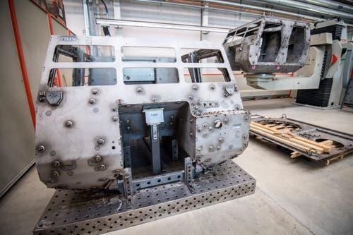 Blick in die neuen Produktionshallen der Mowag, die zur General Dynamics European Land System-Gruppe gehört. (Bild: Reto Martin)